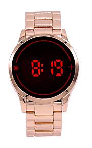 Masculino Relógio de Pulso Digital LED / Touchscreen Lega Banda Pendente Rose marca