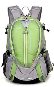 30 L Tourenrucksäcke/Rucksack Camping & Wandern Draußen Wasserdicht / tragbar / AtmungsaktivGelb / Grün / Rot / Schwarz / Blau / Pfirsich