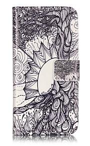 Ganzkörper Brieftasche / Flip Baum PU - Leder Hart Fall-Abdeckung für Apple iPhone 7 plus / iPhone 7