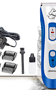 Dog Grooming Clipper & Trimmer Pet Grooming Supplies Waterproof / Low Noise / Electric Plastic Blue P5