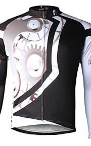 ILPaladin Sport Men Long Sleeve Cycling Jerseys  CX618 Black Machinery