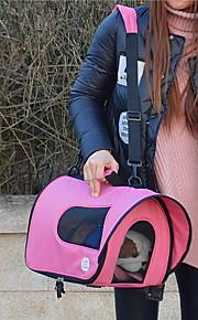 Кошка / Dog Переезд и перевозные рюкзаки / Слинг Животные Корпусы Компактность / Дышащий Нейлон / ОксфордЧерный / Голубой / Розовый /