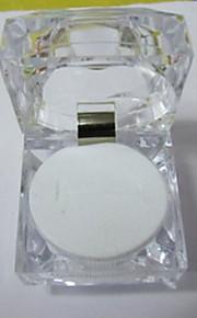 Smykkeskrin Resin 1pc Gennemsigtig