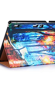 Oil Painting Pattern PU Leather Case with Sleep for Lenovo Tab3 10 business and TAB2 X30F A10-30 and TAB2 A10-70