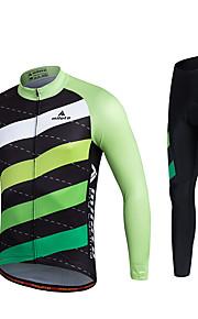 MILOTO Fashion Pattern Cycling Jersey Autumn Ropa Ciclismo Long Sleeve MTB Tracksuit Cloth Bicycle Shirt Pants