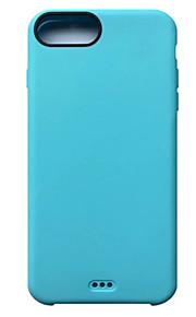 For iPhone 7 etui / iPhone 7 Plus etui / iPhone 6 etui Stødsikker Etui Bagcover Etui Helfarve Blødt TPU AppleiPhone 7 Plus / iPhone 7 /