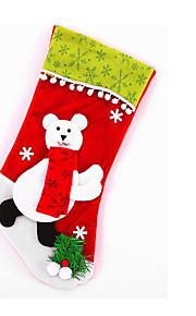 stora gröna sammet kantbolltecknad strumpor jul strumpa snögubbe gamla rådjur plysch stickning handel anpassade