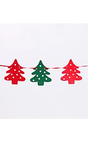 flaggor 2,2 m kände älg jul krans banner flagga Juldekorationer fönsterdekoration part rekvisita
