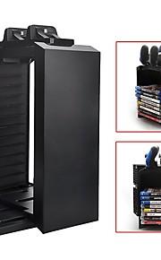 PS4 monitoiminen varastointi teline, latausasema PS4 peliohjaimen