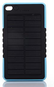 8000mAhmAhבנק כוח סוללה חיצונית מטען סולרי / פנס 8000mAh 1000mA מטען סולרי / פנס