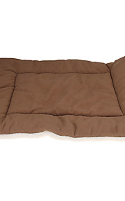 Small Pet Bed Pad Mat for Car Dog Cat Puppy Cage Kennel House Brown S