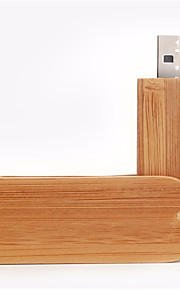 neutro Produto Rotating Wood 8GB USB 2.0 Rotativo