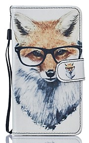 For Samsung Galaxy J5 J5(2016) Fox PU Leather Wallet