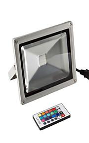 20W 85-265V 2200LM 1.2 M RGB Remote Control Lawn Lamp
