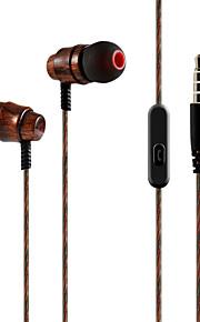 Fashion  Sport Earphones Earbuds (In Ear)/Earbuds (In Ear) Wooden