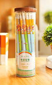 Children Love Stationery Pencil Rubber Cartoon Log