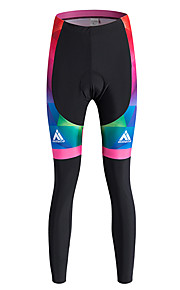 Sports Cycling Pants Women'sBreathable / Thermal / Warm / Quick Dry / Windproof / Fleece Lining / High Breathability (>15,001g) / 3D Pad