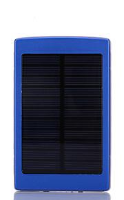 10000mAhmAhבנק כוח סוללה חיצונית מטען סולרי / פנס 10000mAh 1000mA מטען סולרי / פנס