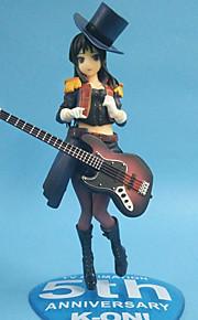 Fantasias Mio Akiyama PVC 22cm Figuras de Ação Anime modelo Brinquedos boneca Toy