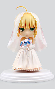 Fate/stay night Saber Lily PVC 6cm Figures Anime Action Jouets modèle Doll Toy