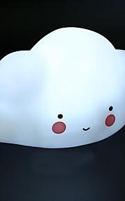 Novelty Night Light Kid Children's Bedroom Decorate Cloud Smile Face Night Lamp