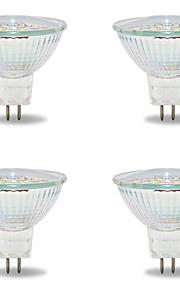 5W GU5.3(MR16) LED-spotpærer MR16 18 SMD 2835 480 lm Varm hvit / Kjølig hvit V 4 stk.
