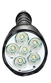 Belysning LED-Ficklampor LED 3800 Lumen 5 Läge LED 18650 / AAA Bimbar / Vattentät / High Power / SuperlättCamping/Vandring/Grottkrypning