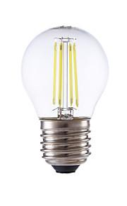 3.5 E26/E27 LED-glødepærer P45 4 COB 350/400 lm Varm hvit / Kjølig hvit AC 220-240 V 1 stk.