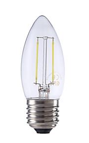 2W E26/E27 LED-glødepærer B 2 COB 250 lm Varm hvit / Kjølig hvit AC 220-240 V 1 stk.