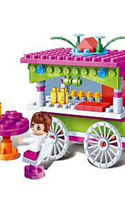 Blocos de Construir / Acessório para Casa de Boneca para presente Blocos de Construir Modelo e Blocos de Construção Carro / Mobília / Casa