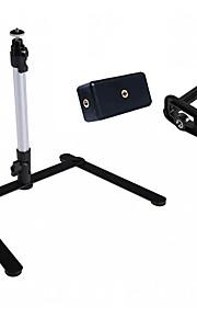 suporte suporte de mesa mini-tripé leve para câmera digital& câmara de vídeo com dois braçadeira