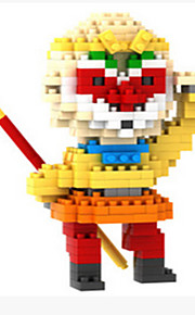 Blocos de Construir para presente Blocos de Construir Jogos & Quebra-Cabeças 2 a 4 Anos / 5 a 7 Anos Amarelo Brinquedos