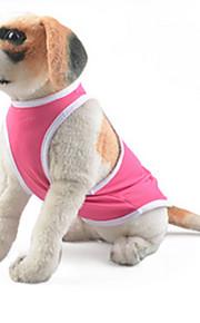 honden Gilet Roze Hondenkleding Zomer / Lente/Herfst Effen Casual/Dagelijks