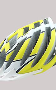 Dame / Herre / Unisex Bike Hjelm 18 Ventiler Sykling Sykling / Fjellsykling / Veisykling / Fritidssykling En størrelse PC / EPSGul / Rød