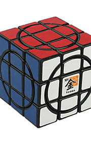 Legetøj Glat Speed Cube 3*3*3 Originale Minsker stress / Magiske terninger Sort Fade ABS / Plastik