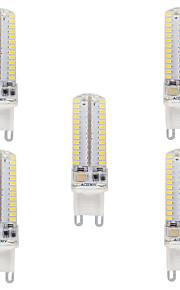 3.5 G9 LED-lamper med G-sokkel T SMD 3014 330-350 lm Varm hvit Kjølig hvit Vanntett AC110 AC220 V 5 stk.