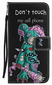 For Google Pixel XL Pixel Case Cover One - eyed Mouse Painted Lanyard PU Phone Case