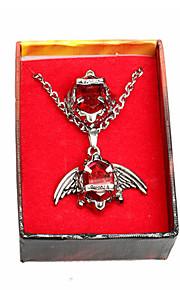 Smycken Inspirerad av Cosplay Cosplay Animé Cosplay Accessoarer Ring Röd Blå Grön Legering Man Kvinna