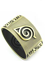Smycken Inspirerad av Cosplay Naruto Uzumaki Animé Cosplay Accessoarer Armband Guld Legering Man Kvinna