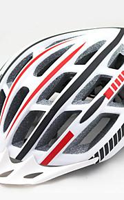 Dam Herr Unisex Cykel Hjälm 20 Ventiler Cykelsport Cykling Bergscykling Vägcykling Rekreation Cykling Andra One size PC epsGul Vit Röd