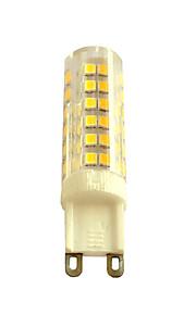 7W G4 /G9/E14 LED Bi-pin Lights T 75 SMD 2835 480-580LM  Warm White / Cool White Decorative AC110 / AC220 V 1 pcs