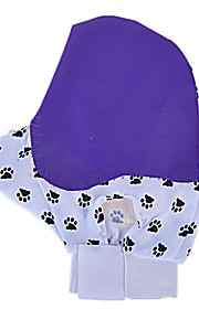 Dog Cleaning Brush / Baths Pet Grooming Supplies Waterproof / Massage Purple Fabric / Rubber