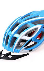 남여 공용 자전거 헬멧 N/A 통풍구 싸이클링 사이클링 산악 사이클링 도로 사이클링 레크리에이션 사이클링 원 사이즈 EPS+EPU 핑크 블루