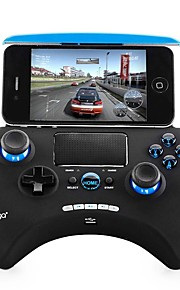 IPEGA PG-9028 Wireless Bluetooth 3.0 Game Controller Gamepad Joystick 2.0 Touch Pad for Android iOS Tablet PC TV Box - Black and Blue