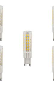 5W G9 LED-lamper med G-sokkel T 75 SMD 2835 470-490 lm Varm hvit Kjølig hvit Vanntett AC 220-240 V 5 stk.