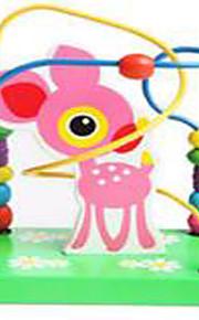 Verlicht stress / Educatief speelgoed Ontspannende hobby's Speeltjes Noviteit Cirkelvormig / Vierkant Hout RegenboogVoor jongens / Voor