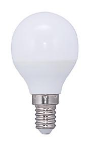 5.5W E14 LED-globepærer G45 14 SMD 2835 415 lm Varm hvit AC 220-240 V 1 stk.