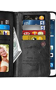Per A portafoglio / Porta-carte di credito Custodia Integrale Custodia Tinta unita Resistente Similpelle per Huawei Huawei P9 Plus
