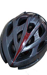 여성용 / 남성용 / 남여 공용 자전거 헬멧 21 통풍구 싸이클링 사이클링 / 산악 사이클링 / 도로 사이클링 / 레크리에이션 사이클링 원 사이즈 PC / EPS 블랙