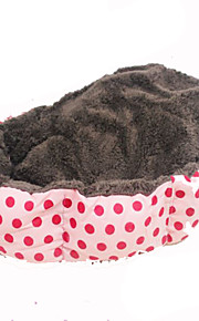 Cat Dog Bed Pet Blankets Portable Pink Fabric
